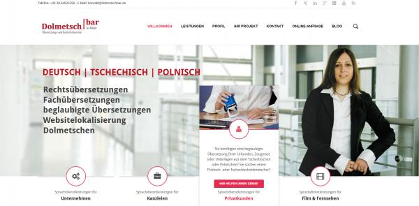 Website Dolmetschbar