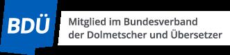 BDÜ-Mitgliedslogo